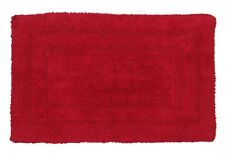 Bath mats Cotton Reversible Fast Absorbent Size 50x80 cm Maroon colour Pack of 2