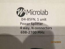 Microlab D4-85FN FXR 694-2700 MHz 4-Way Power Splitter
