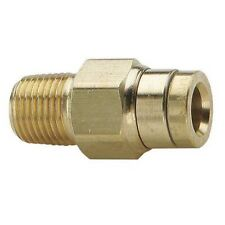 """PARKER 68PMT-4-4 1/4"""" PUSH-CONNECT X MNPT BRASS MALE CONNECTOR"""" 10 PACK  04i 048"""