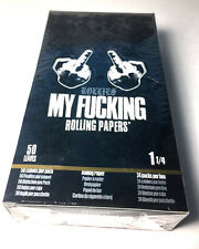 My Fu cking Rolling Papers 1 Box 24 Packs 1 1/4 Size Sealed Box by Rollies 1.25