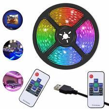 LED Strip Lights,  TV LED Backlight RGB Strip USB Powered RGB Color Light Strip