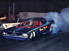 """BIG"" Jim Dunn & Reath 1974 Plymouth Cuda Rear Eng. NITRO Funny Car PHOTO! #(2)"