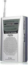 Am fm radio portable pocket mini sports transistor am/fm radios