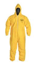 Dupont Tychem Tyvek QC QC127 QC127S Chemical Hazmat Suit PPE Large In Stock!!