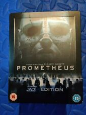 Prometheus Blu Ray Steelbook Opened
