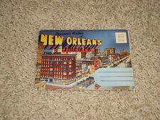 (A9) Lot New Orleans Folder Souviner Card Lot, New Orleans, Louisiana