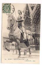 reims , statue de jeanne d'arc