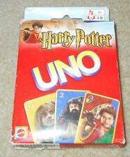 Harry Potter Themed UNO Card Game Mattel! Age 7+, 2-10 Players! Family Game!
