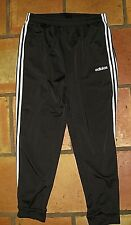 ADIDAS BLACK ATHLETIC PANTS WITH CUFFS MEN'S SIZE XL