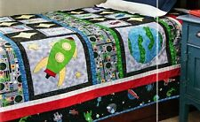 Adventures In Space Quilt Pattern Pieced/Applique HP