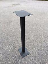 Black Metal Post Box Stand for Royal Mail Post Box Post Box