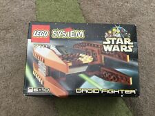 Star Wars lego droid fighter item 7111 rare brand new in box factory sealed