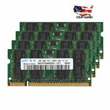 2GB 4GB 8GB for Samsung PC2-6400 DDR2-800 800Mhz 200pin Sodimm Laptop Memory US