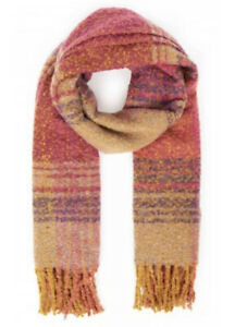Powder Design Maggie Knitted Scarf | Fuchsia Mix