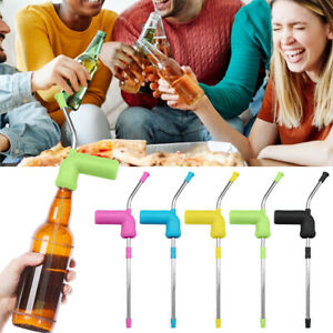 Beer Snorkel Bong Funnel Drinking Straw Games Hens Bucks Party Entertainment Bar