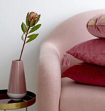 Vase rosa Keramik Höhe 22 cm Retro Nordic Skandinavisch von Bloomingville