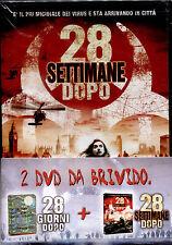 28 GIORNI DOPO+28 SETTIMANE DOPO - 2DVD NUOVO SIGILLATO, PRIMA STAMPA ORIGINALE