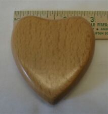 WOODEN  HEART--LIGHT OR DARK WOOD--LIMITED QUANITIES--$9.95 INCLUDES SHIPPING!!