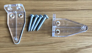 2 x Venetian Blinds Hold Down Brackets Bottom Stays suits 50mm blinds