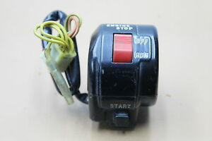 1983 SUZUKI GS550 GS550E RIGHT HANDLEBAR CONTROL ( SSHC119)