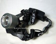GLP030, Zoomabl Headlight,Headlamp,1600LM Cree XM-L T6 LED+Chgr,camp,bike,hiking