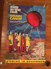 """ORIGINAL Kids In The Hall Brain Candy 41.5""""x27"""" Promotional Poster"""