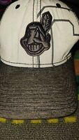 Cleveland Indians Chief Wahoo Vintage New Era Large Extra Large Flex Fit Hat Cat