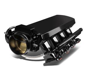 102mm Black LS1 Intake Manifold & Throttle Body LS2 LS6 Sheet Metal Cathedral