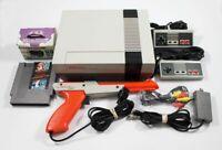 NES Nintendo System Console - Super Mario Bros/ Duck Hunt, New 72 Pin, Zapper