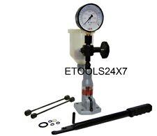 ET Neu Diesel Einspritzdüsen Prüfgerät Dualskala Manometer 0-400 Bar 0-6000 PSI