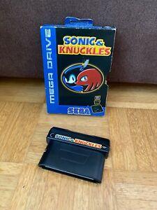 Sega Mega Drive Spiel: Sonic & Knuckles - SMD - 16-Bit - Guter Zustand Hedgehog