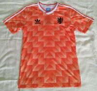1988 Netherlands retro vintage classic soccer team club home t-shirt jersey tw