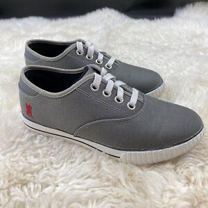 Chrome Brand Truk Pro Textile Bike Cycling Sneaker Shoe W/ Clips Gray Size 6 EUC