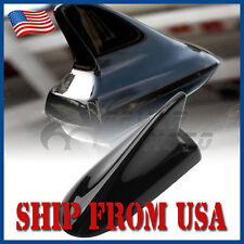 US Car Black Shark Fin Buick Style Dummy Aerial Antenna Roof Fit Toyota Camry FM