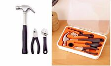 Ikea Tool Kit, 17-Piece, hammer, wrench, Screw Driver, Nickel plated, New