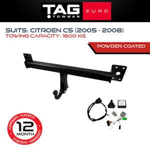 TAG Euro Towbar Fits Citroen C5 2005-2008 Towing Capacity 1600Kg 4x4 4WD