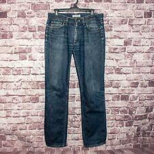 ACNE Jeans Men's Mic Rigid Denim Jeans Medium Wash Straight Leg Size 32x34