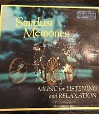 Vinyl LP  - Stardust Memories - 8 Record Set - 33 RPM -RCAReaders Digest Vintage
