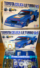 TAMIYA 1/12 RC TOYOTA CELICA LB TURBO Gr.5 COMPETITION SPECIAL #5809