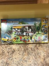 LEGO Creator Vacation Getaway 3-in-1 Camper, Summer Home, and Yacht | 31052