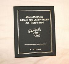 Dale Earnhardt 23 KT Gold Card Set Danbury Mint - Free Shipping - Originally $49