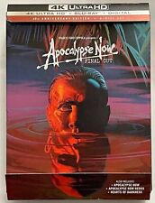 APOCALYPSE NOW 4K ULTRA HD BLU RAY 6 DISC SET DIGIPACK FINAL CUT 40TH ANNIVERSAR