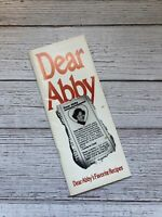 Vintage Dear Abby's Favorite Recipes Cookbook 1998 1990's Housewife Recipes