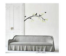 Birds su un ramo in vinile Wall Art decalcomania Sticker Shabby Chic Designer Funky