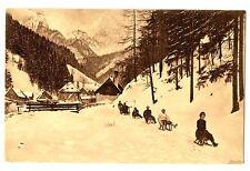 CPA Suisse Sports d'hiver  Luges