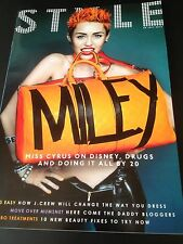 MILEY CYRUS interview HANNAH MONTANA BRAND NEW UK 1 DAY ISSUE JULY 2013