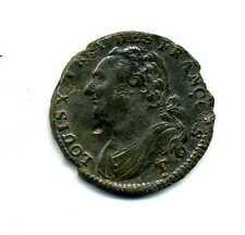 (REV 01) LOUIS XVI 12 DENIERS  FRANÇOIS 1792 T NANTES  (TTB)