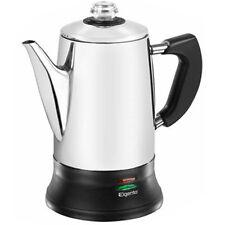 Elgento Stainless Steel Electric Coffee Percolator 1200w 1.8l E011