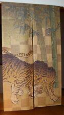 Japanese Noren Door Curtain [ TORA - TIGER ] Room Divider 85x150cm Made in Japan