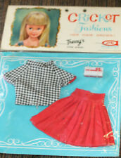 """*Rare Vintage 1965 Cricket Doll """"Mad Music"""" Outfit #14107 In Original Package"""